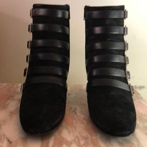 Saint Laurent Paris Black Booties